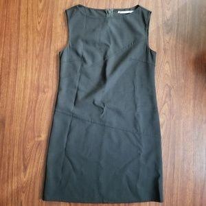 Burberry Brown Conservative Dress Sleeveless